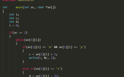 Simple Programming: rot_13.c